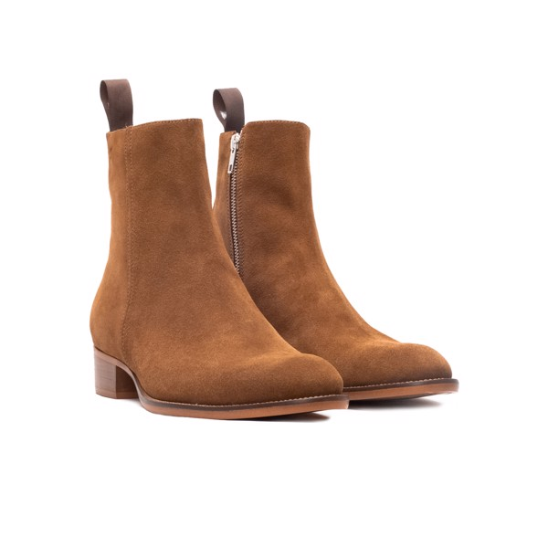 THE WILD WALK ZIP BOOT – TOBACCO