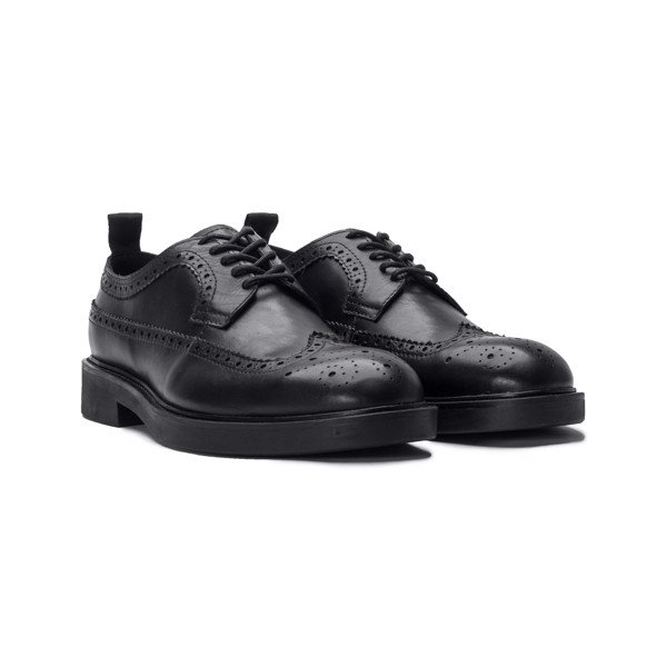 THE BROGUE DERBY - BLACK