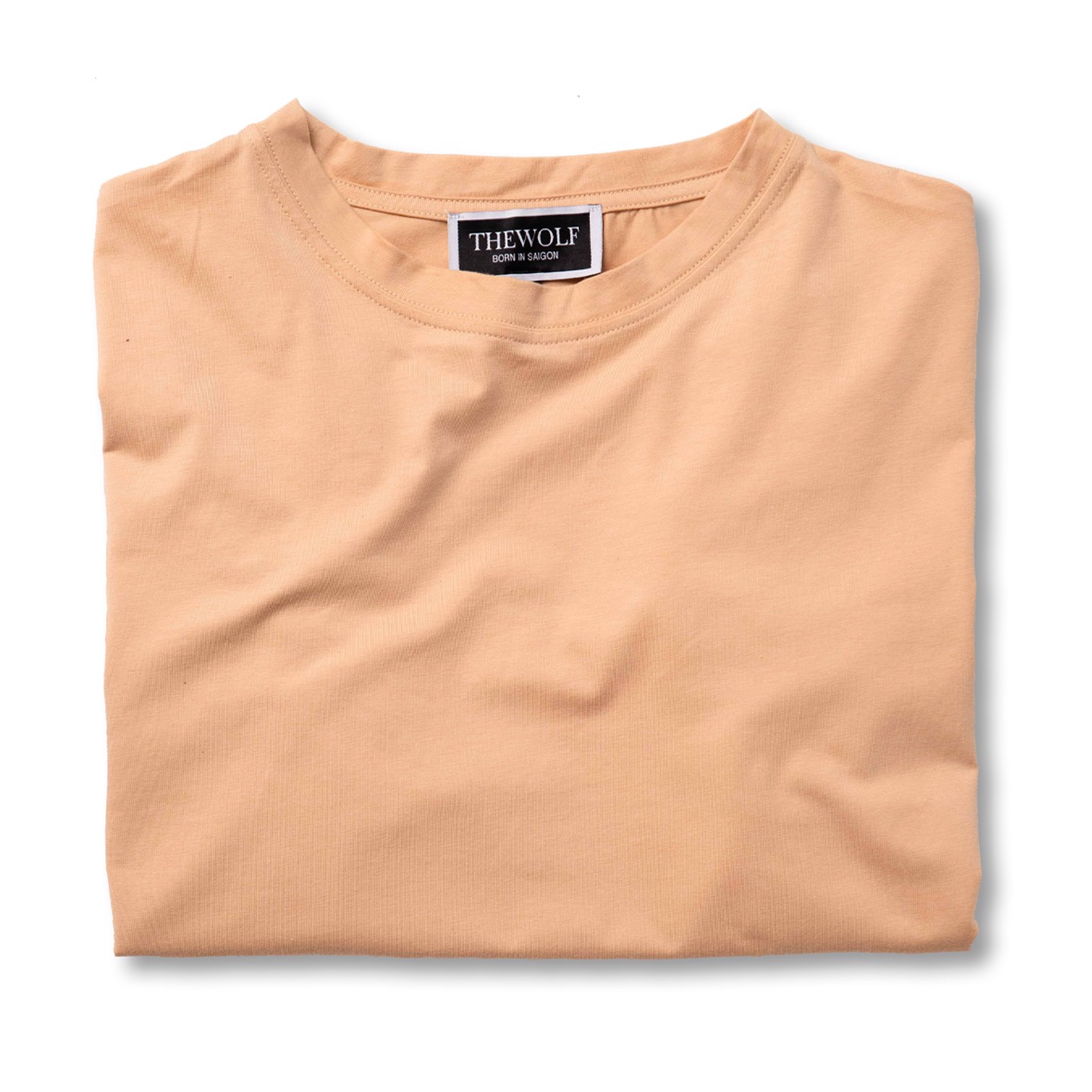 THE WOLF BASIC TEE - TAN