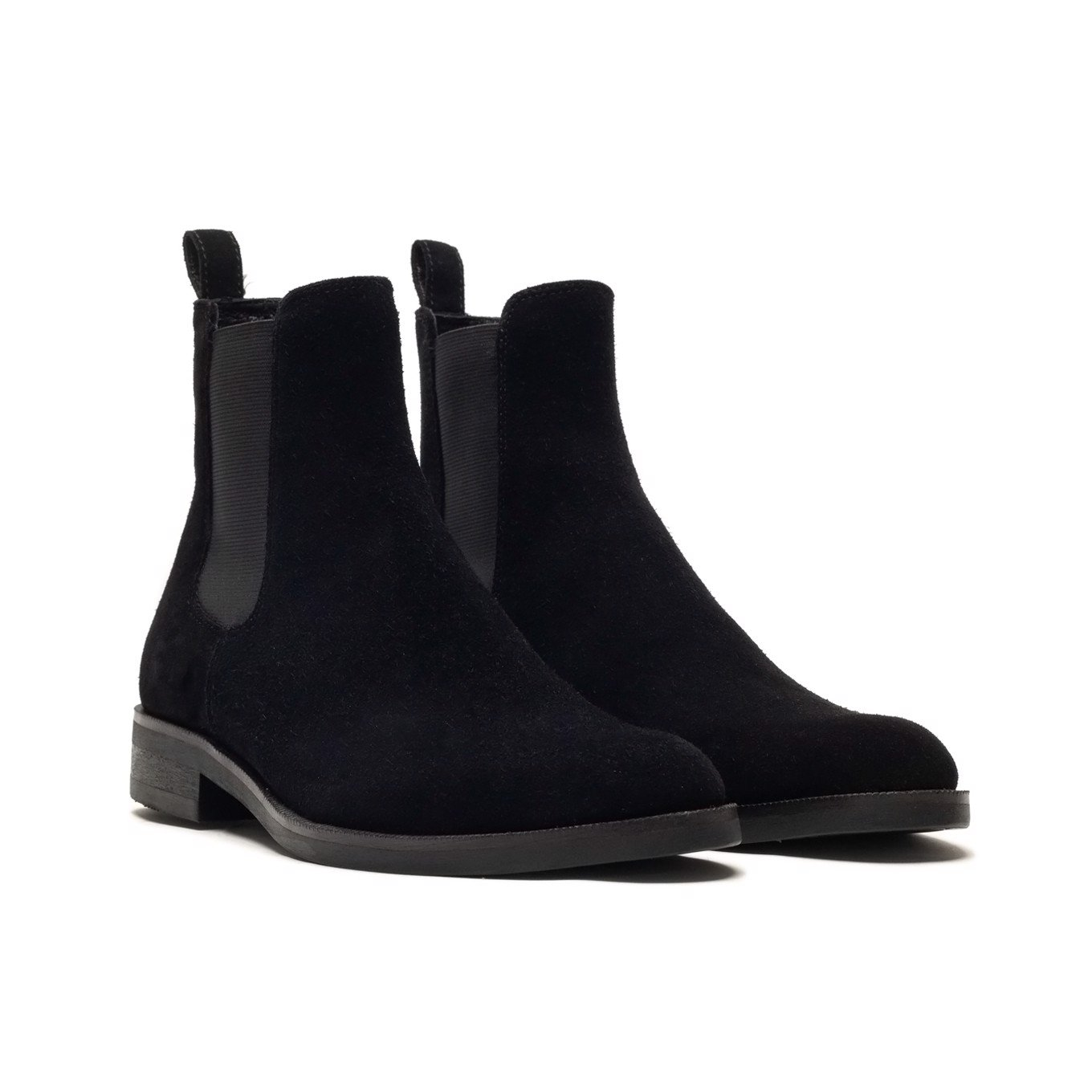 THE X FLAWLESS CHELSEA BOOT - ĐEN DA LỘN