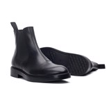 THE MODERN CHELSEA BOOT - BLACK