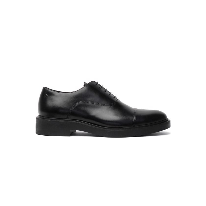 THE BASIC WOLF OXFORD - BLACK