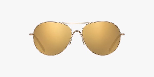Oliver Peoples Rockmore - Amber photochromic lenses.
