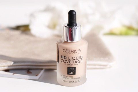 Kem Nền CATRICE HD LIQUID COVERAGE- 24H