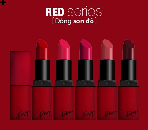 Son Thỏi BBIA LAST LIPSTICK RED SERIES - No.2