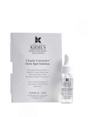 Serum Trị Thâm Nám Kiehl's Clearly Corrective Dark Spot Solution 4ml