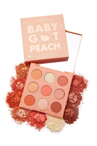 Bảng Phấn Mắt Colourpop Baby Got Peach Shadow Palette