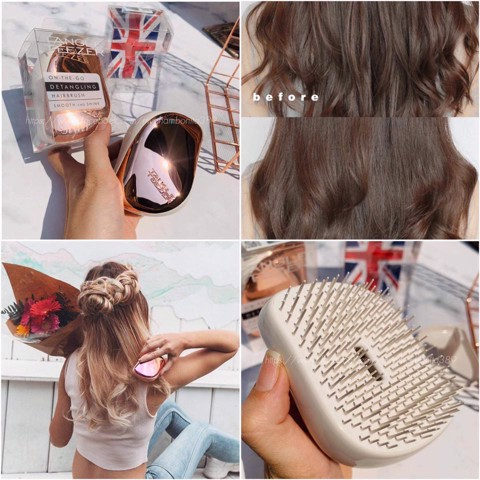 Lược Chải Massage Tóc Tangle Teezer Hairbrush Smooth And Shine