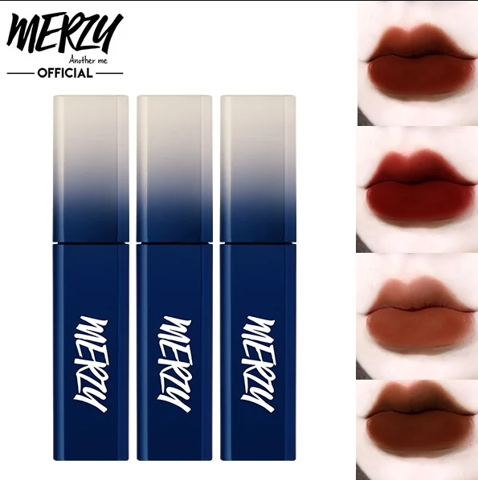 Son Kem Lì Merzy The First Velvet Lip Tint Season 3 Blue