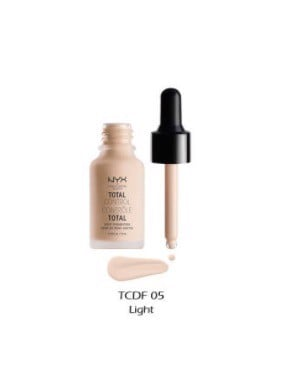 Kem Nền Trang Điểm NYX Light TCDF05 13ml Total Control Drop Foundation