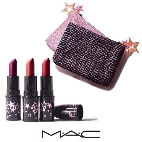 Set 3 Cây Son Mac Mini Lucky Star Lipstick