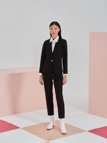 Blazer Đen Form Fit