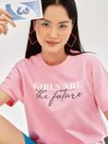 Áo Thun Hồng Girls Are The Future
