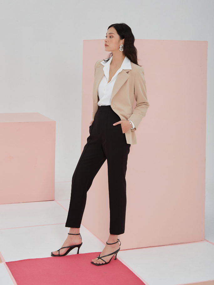 Blazer Nâu Form Fit
