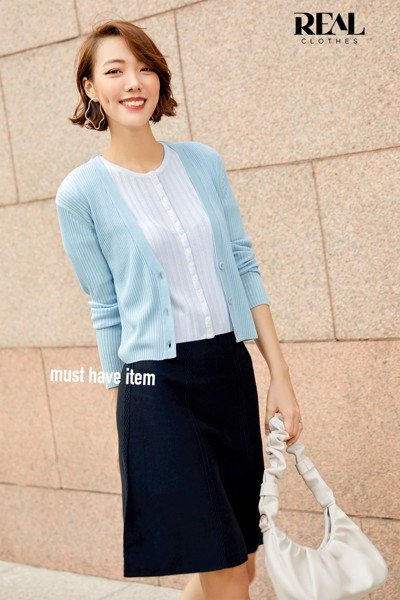 Áo cardigan blue - SALE