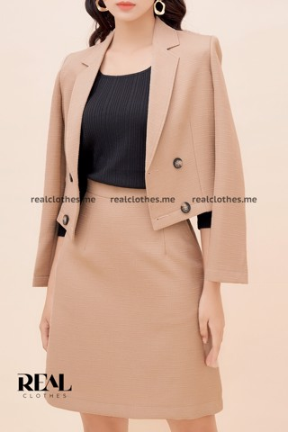Blazer lisa cafe sữa