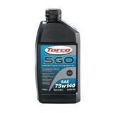 Dầu cầu, láp Torco SGO Synthetic Gear Oil 75W-140