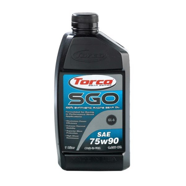 Dầu cầu, láp Torco SGO Synthetic Gear Oil 75W-90