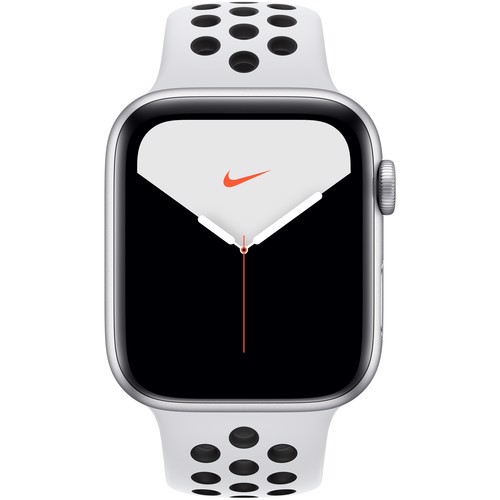 Apple Watch Series 5 Nike LTE 44mm, Silver Aluminum with Sport Band