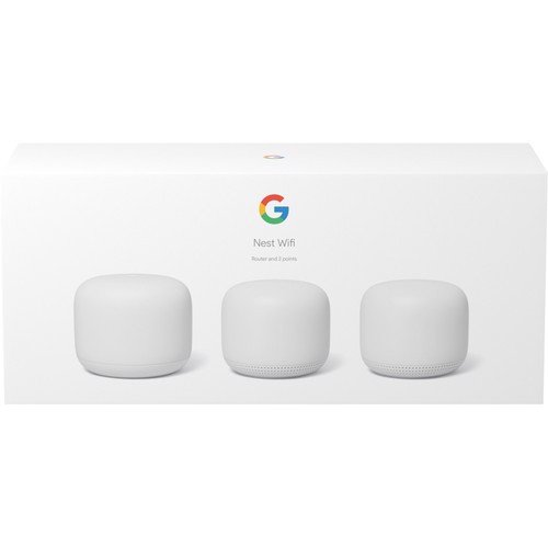 Google Nest Wifi (Router + 2 points)