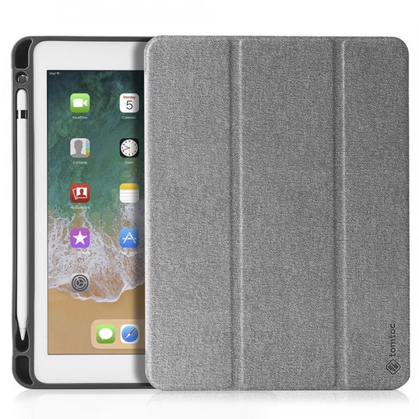 tomtoc Smart Cover Slim with Pencil Holder for iPad 9.7