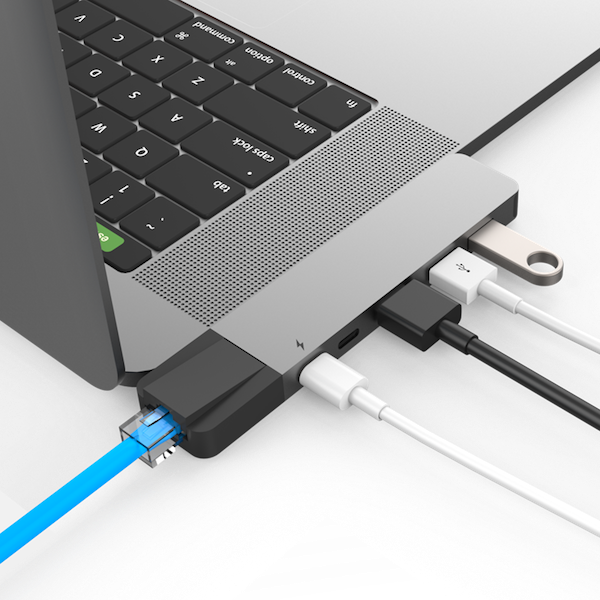 HyperDrive NET 6-in-2 Hub for USB-C MacBook Pro/Air