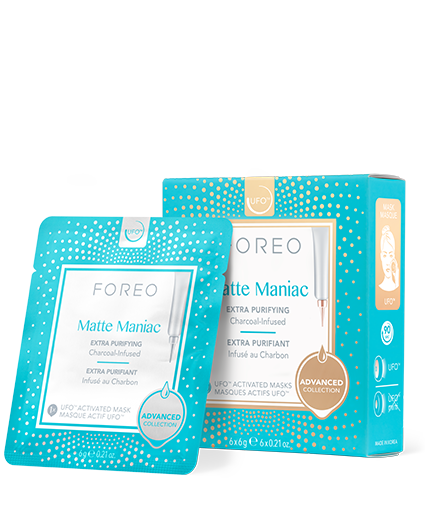 Foreo Matte Maniac Face Mask for Oily Skin