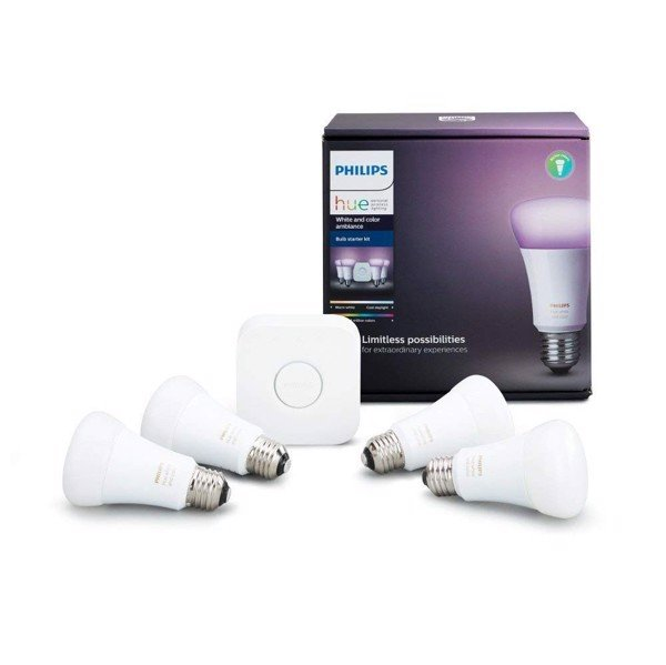Philips Hue White Color Ambiance 9W Starter Kit