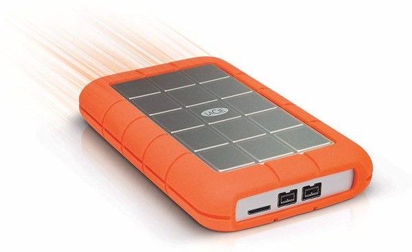 LaCie Rugged Triple USB 3.0 Firewire 800 - 1T