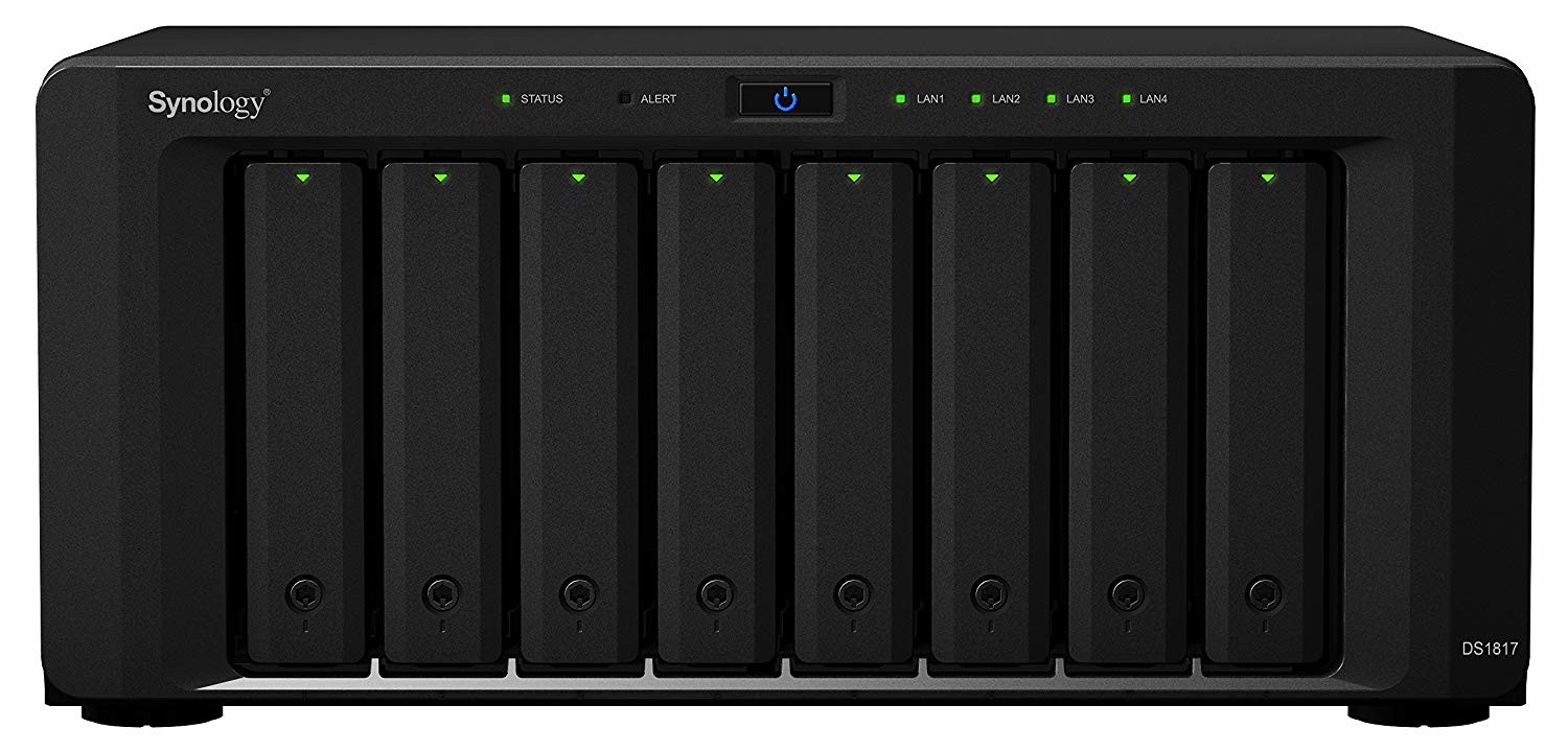 Synology 8 Bay NAS Diskstation DS1819+