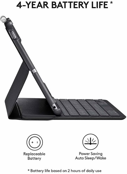 Logitech Slim Folio for iPad Air 3 10.5inch