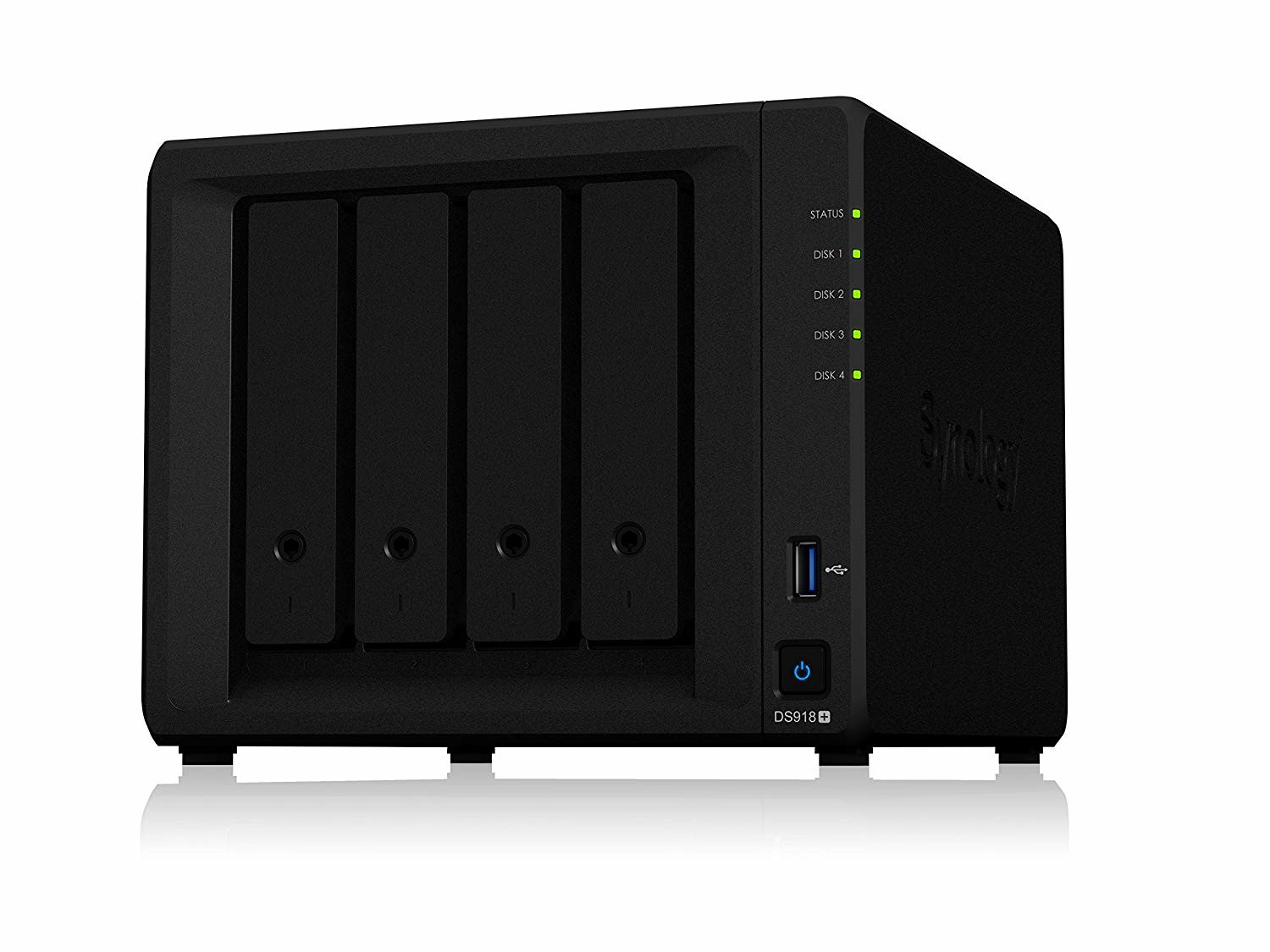 Synology 4 bay NAS DiskStation DS918+