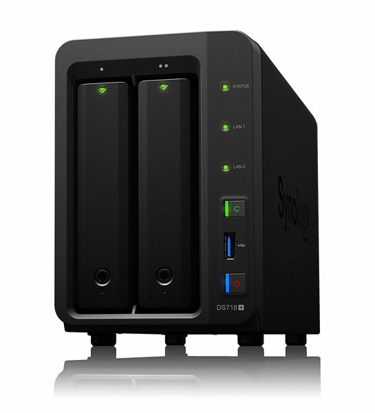 Synology 2 bay NAS DiskStation DS718+