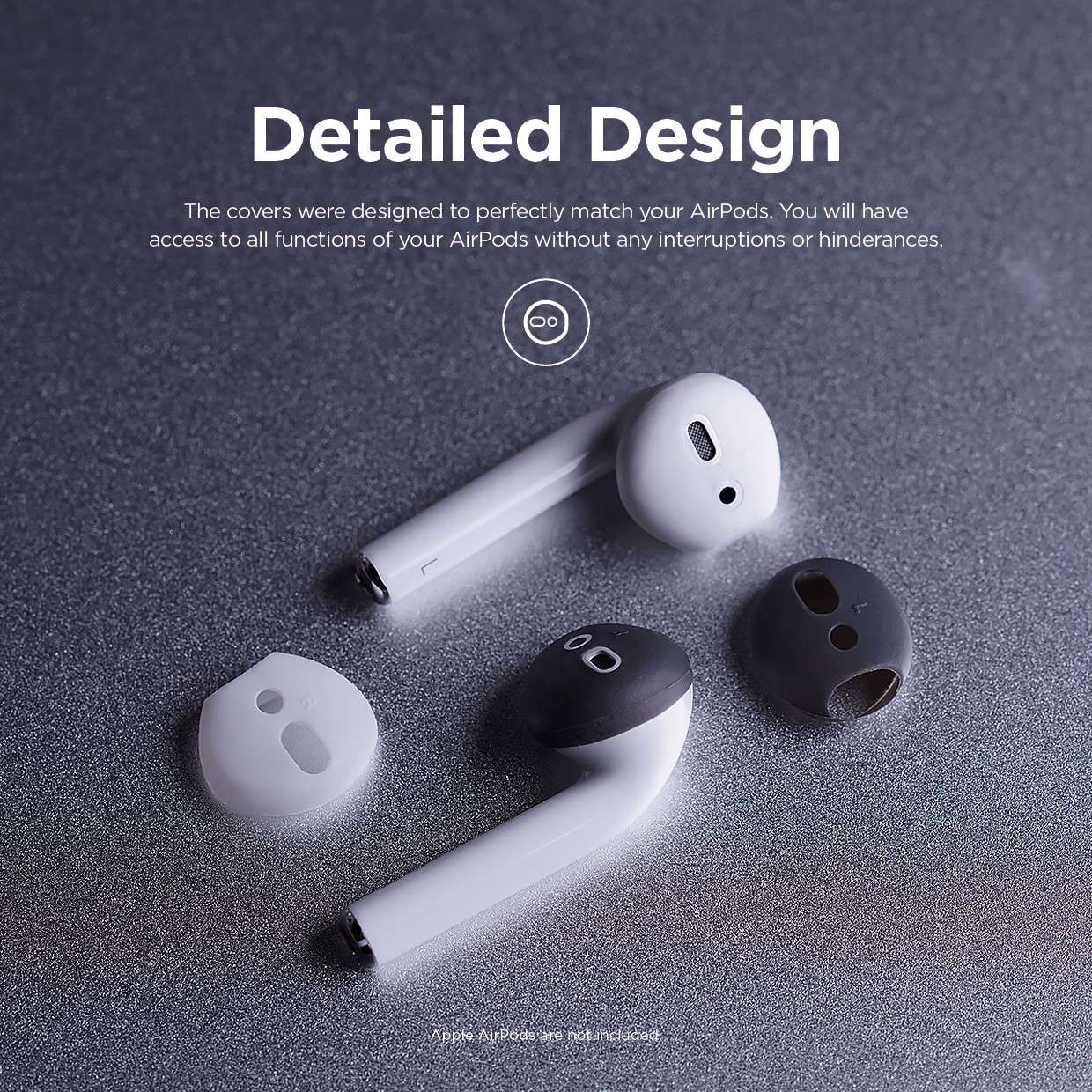 Elago AirPods Secure Fit Cover [2 CẶP]