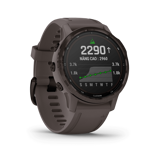 Garmin Fenix 6S Pro Solar - Amethyst Steel with Shale Gray Band