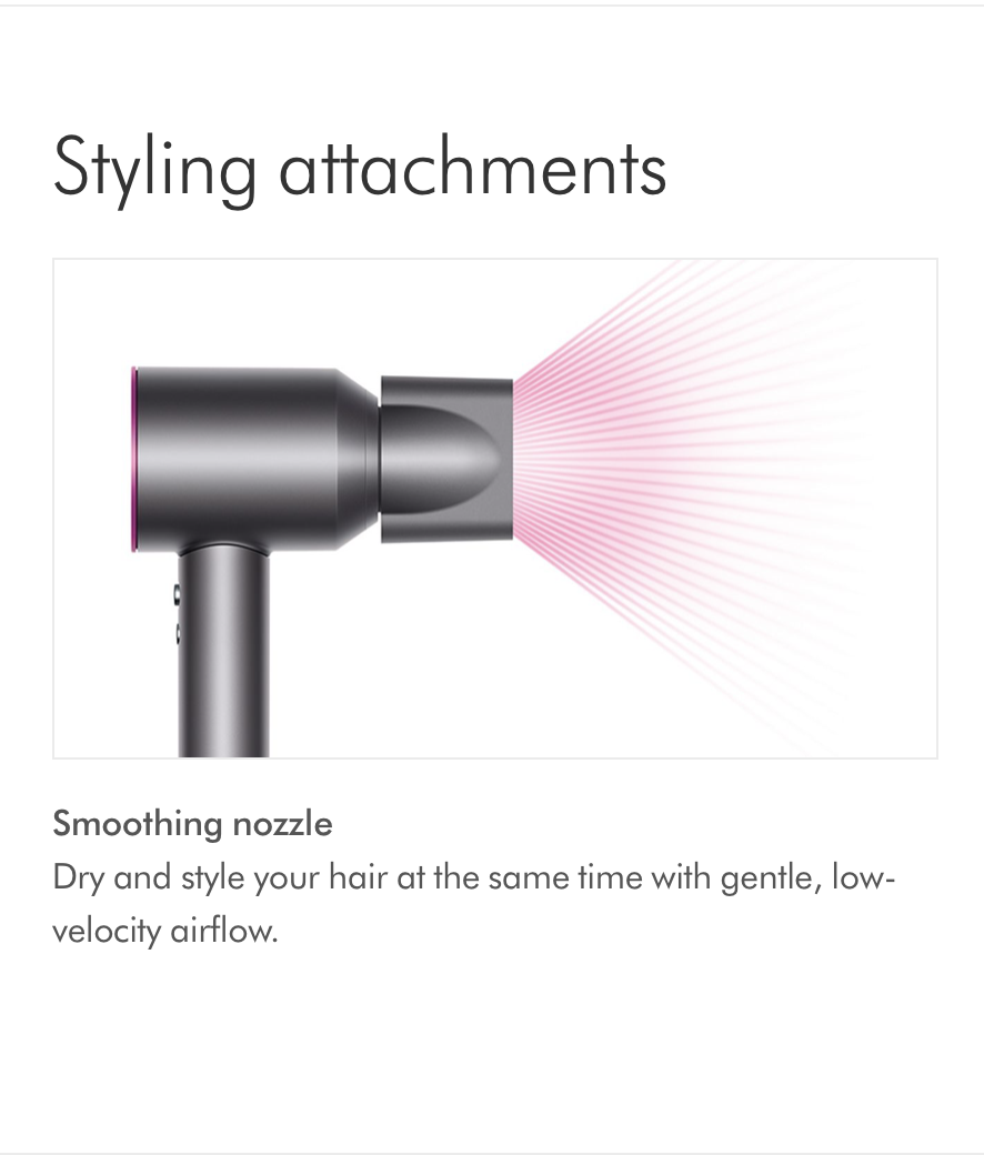 Dyson Supersonic Hair Dryer HD01