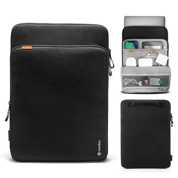 Tomtoc 360° Protection Premium Laptop Sleeve 13.3