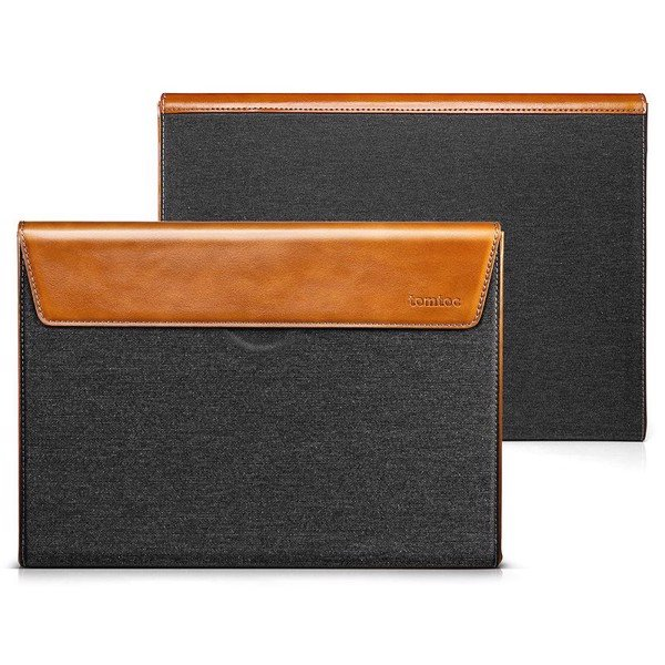Tomtoc Premium Leather Sleeve for 15