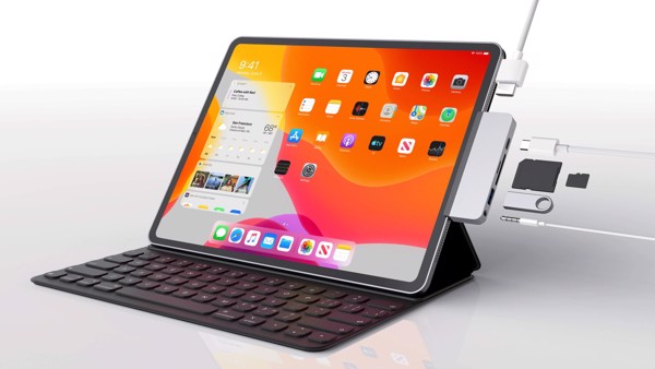 HyperDrive 6-in-1 USB-C Hub — for iPad Pro 2018