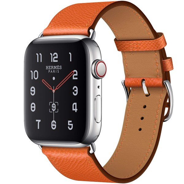 Apple Watch Hermès 44mm Stainless Steel Case with Single Tour