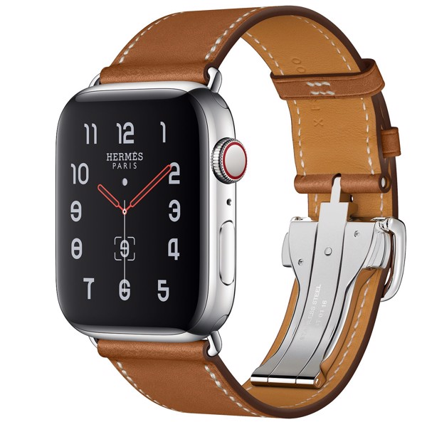 Apple Watch Hermès 44mm Stainless Steel Case with Single Tour Deployment Buckle
