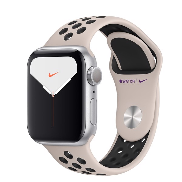 Apple Watch Series 5 Nike GPS 40mm Silver Aluminium Case with Nike Sport Band