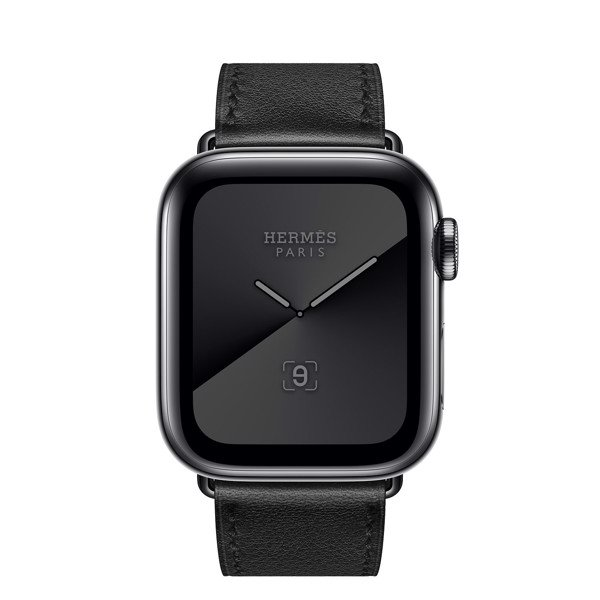 Apple Watch Hermès 40mm Space Black Stainless Steel Case with Single Tour