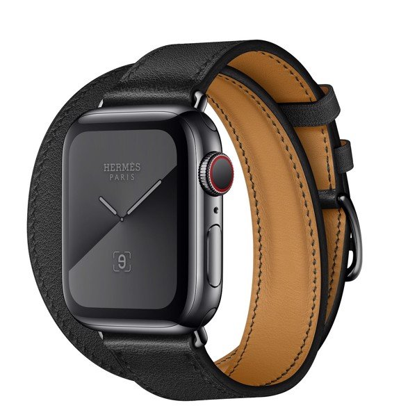 Apple Watch Hermès 40mm Space Black Stainless Steel Case with Double Tour
