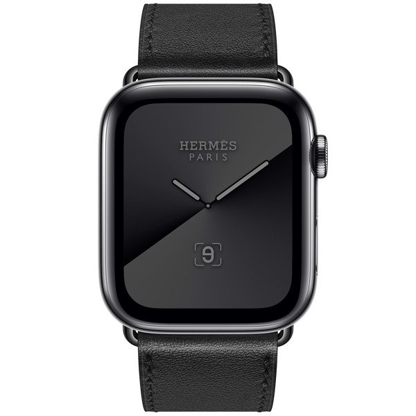 Apple Watch Hermès 44mm Space Black Stainless Steel Case with Single Tour