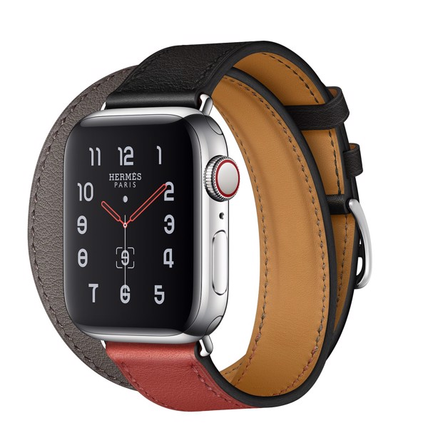 Apple Watch Hermès 40mm Stainless Steel Case with Double Tour