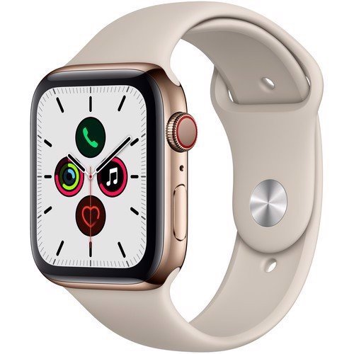 Apple Watch Series 5 GPS + Cellular, 44mm Gold Stainless Steel, qua sử dụng