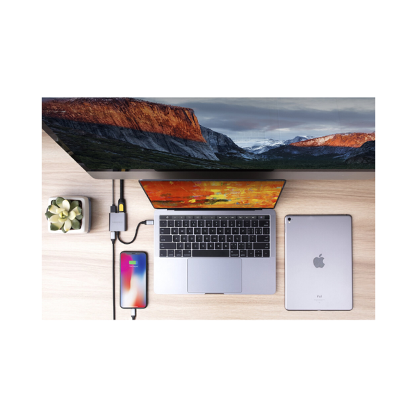 HyperDrive 4K HDMI 3-in-1 USB-C Hub
