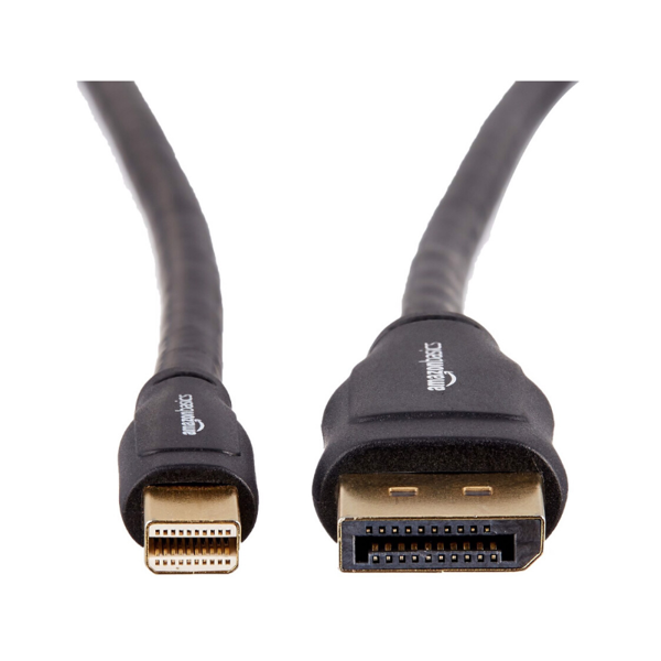 AmazonBasics Mini DisplayPort to DisplayPort Cable - (3 Feet - 0.9m)