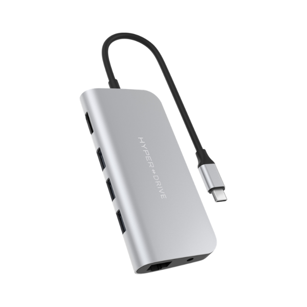 HyperDrive POWER 9-in-1 -  USB-C Hub for iPad Pro, MacBook Pro/Air